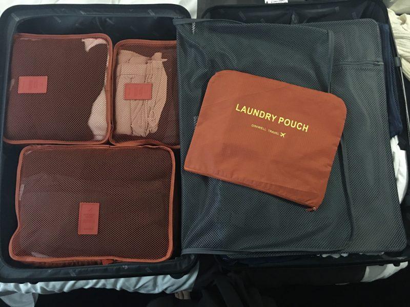 おすすめトラベルポーチでスーツケースや旅行鞄の中がすっきり変わる!