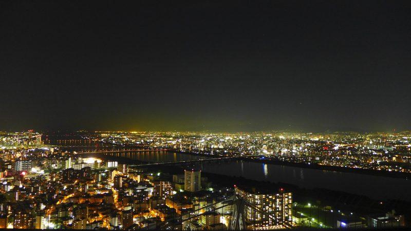 大切な友達・パートナーと眺めたい大阪・兵庫の夜景スポットランキング5選