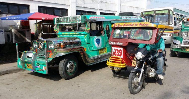 フィリピンの仰天交通マナーと驚異の渋滞を攻略しよう!