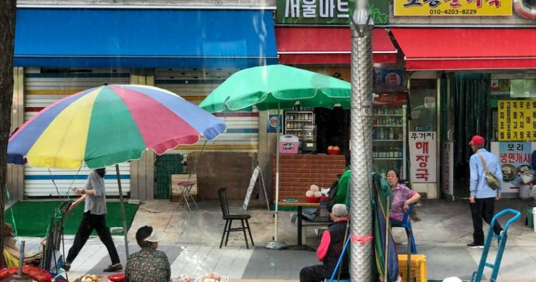 韓国に弾丸旅行で明洞へ行ってみました!